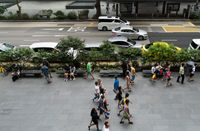 Orchard Road by Hu Jieming contemporary artwork photography