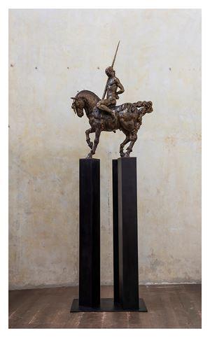 Caballo I, 3v by Javier Marín contemporary artwork sculpture