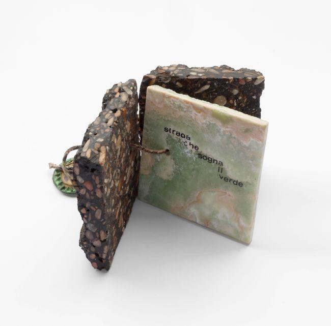 The road that dreams of green by Mirella Bentivoglio contemporary artwork