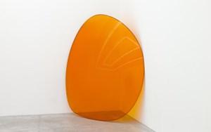 Lens (Orange) by Alex Israel contemporary artwork