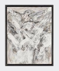Flight III by David Koloane contemporary artwork painting, mixed media