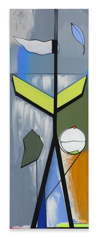 Fahne by Thomas Scheibitz contemporary artwork mixed media