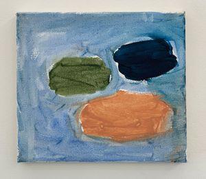 Three Things on Blue by Tuukka Tammisaari contemporary artwork