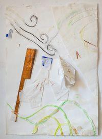 Nascimento do vento by Karin Lambrecht contemporary artwork mixed media