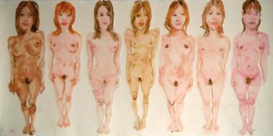 Soapland Girls #1 by Tawan Wattuya contemporary artwork