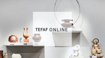 Contemporary art art fair, TEFAF Online 2021 at Bailly Gallery, Geneva, Switzerland