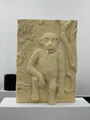 Reliefs (Monkeys) by Peter Fischli contemporary artwork
