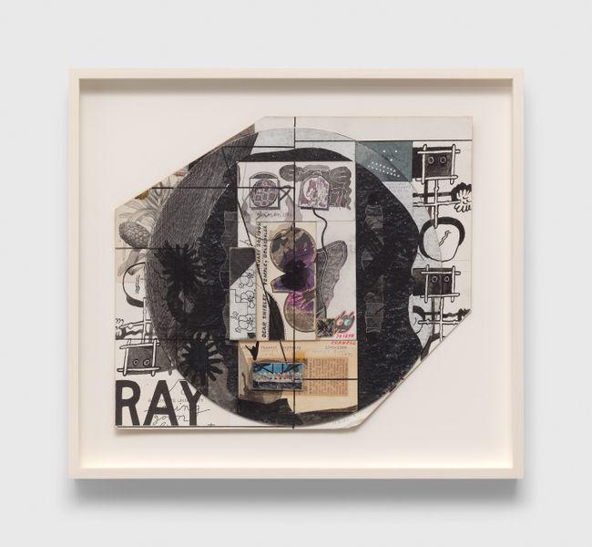 Untitled (Dear Shirley Temple, Geldzahler) by Ray Johnson contemporary artwork
