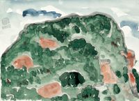 Mount Nanputuo III by Lin Chuan-Chu contemporary artwork painting, works on paper, drawing