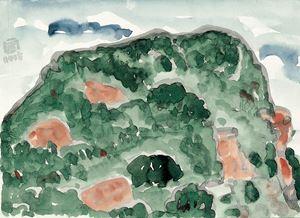 Mount Nanputuo III by Lin Chuan-Chu contemporary artwork