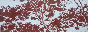 Red Hydrangea V by Yu Jen-chih contemporary artwork