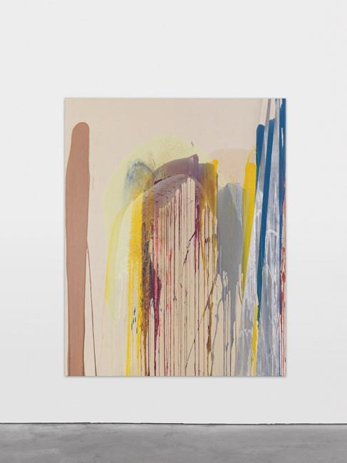 Étole by John M Armleder contemporary artwork