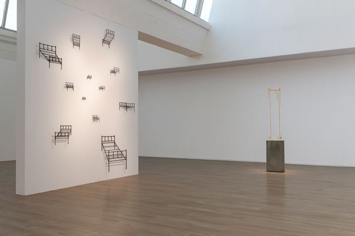 Exhibition view: Cai Lei, Block, Tang Contemporary Art,Beijing2ndSpace (5 September–18 October 2020). Courtesy Tang Contemporary Art, Beijing.