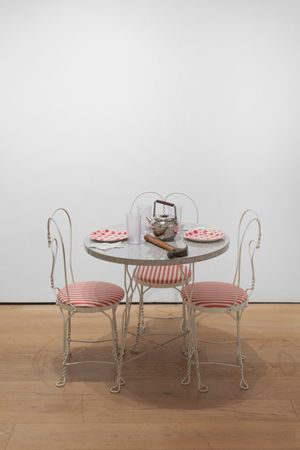 Hannah Weiner (from Portraits of Eight New York Women) by Eleanor Antin contemporary artwork sculpture