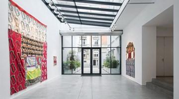 Contemporary art exhibition, Claude Viallat, Les échelles de Nîmes at Templon, Brussels