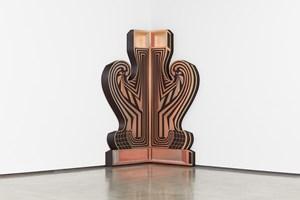Corner Gate (Profile 2) by Zach Harris contemporary artwork