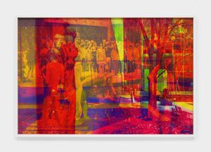 Kusama by James Welling contemporary artwork
