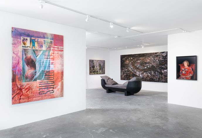 Exhibition view: Group Exhibition,Second Nature, Lehmann Maupin, Aspen (1–31 July 2021). Courtesy Lehmann Maupinand Carpenters Workshop Gallery.Photo: Tony Prikryl.