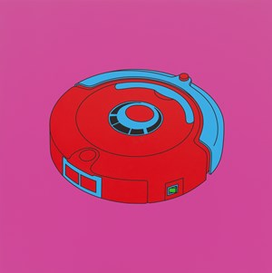 Untitled (robot floor cleaner) by Michael Craig-Martin contemporary artwork