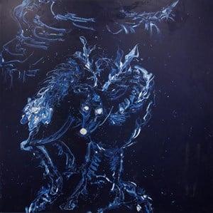 Deep Blue by Yangjiang Group contemporary artwork painting