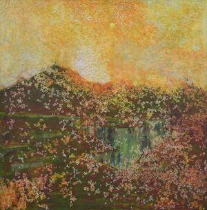 Gaze Afar by Tsang Chui Mei contemporary artwork painting