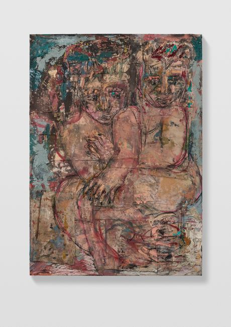Couples 5 (french grey) by Daniel Crews-Chubb contemporary artwork
