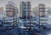 Laisse Béton by Driss Ouadahi contemporary artwork painting