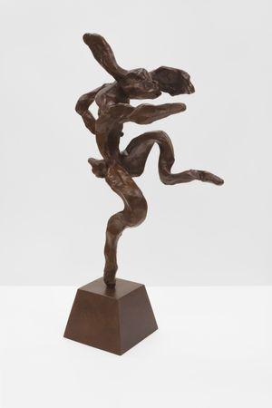 Small Nijinski Hare by Barry Flanagan contemporary artwork