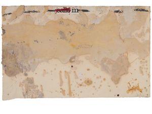 "Maqueta per a la litografia del llibre ""Retornos de lo vivo lejano"" by Antoni Tàpies contemporary artwork"