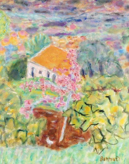 Maison du peintre au Cannet by Pierre Bonnard contemporary artwork