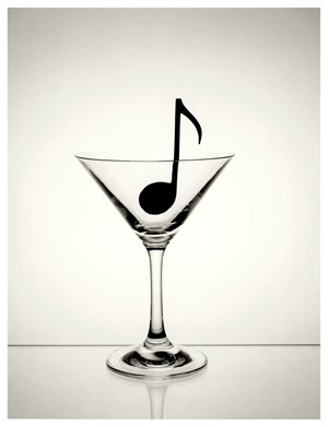 Untitled (Copa-nota) by Chema Madoz contemporary artwork