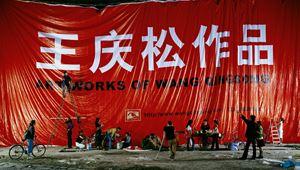 Billboard by Wang Qingsong contemporary artwork