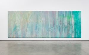Green April by Sam Gilliam contemporary artwork