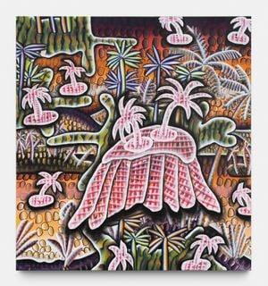 Screensaver error by Lisa Vlaemminck contemporary artwork