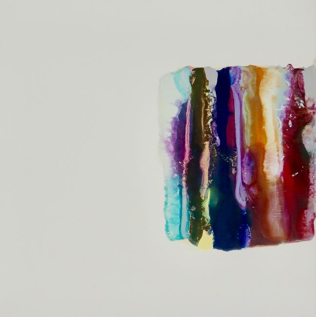 Lilac (Slide) by Marie Le Lievre contemporary artwork