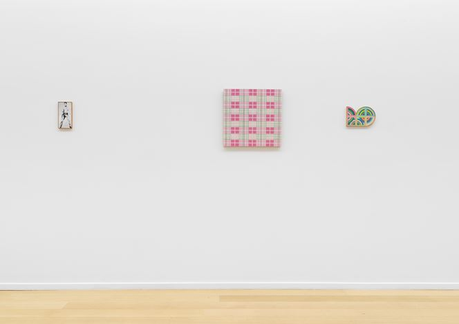 Exhibition view: Group Exhibition, Fake As More, Simon Lee Gallery, New York (13 November–22 December 2018). Courtesy the artists and Simon Lee Gallery London, New York.