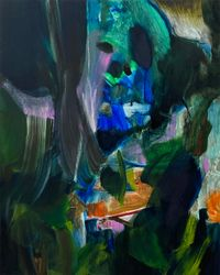 Good Night by Koo Jiyoon contemporary artwork painting, works on paper