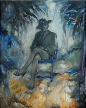 Pria dengan Sepatu Hak Tinggi (A Man in High Heels) by Nadya Jiwa contemporary artwork