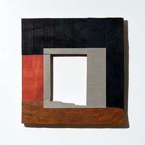 Grey Square by Young-Rim Lee contemporary artwork