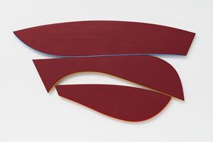 Flares: Rise and Fall by Kenneth Noland contemporary artwork