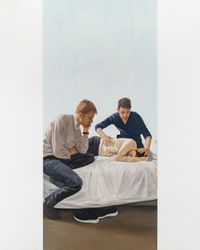 La Séance by Tim Eitel contemporary artwork painting, works on paper