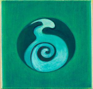 Origin 24 by Ho Kan contemporary artwork painting