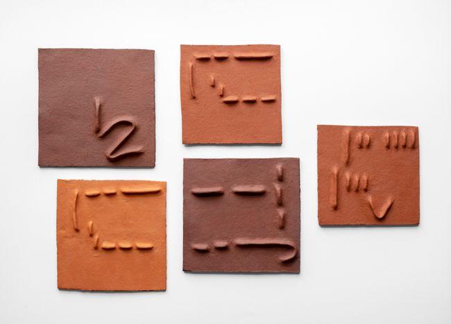 Pidgin Tiles Set 5 by Pyda Nyariri contemporary artwork