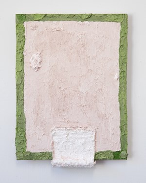 Untitled (green edge) by Louise Gresswell contemporary artwork