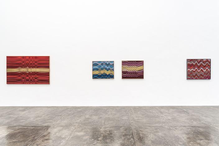 Exhibition view: Abraham Palatnik, Obras Recentes e Pontuações Históricas, Galeria Nara Roesler, São Paulo (8 February–21 March 2020). Photo: © Erika Mayumi.