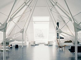 Elmgreen & Dragset's cavernous Berlin live-work space offers a clever twist on familiar structures