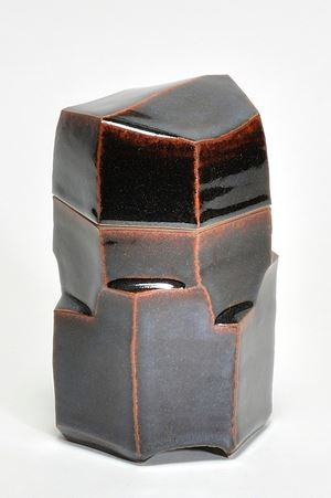 Box tenmokku by Sebastian Scheid contemporary artwork