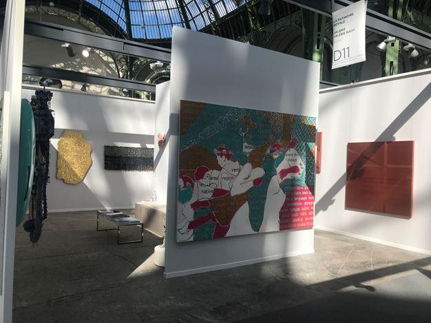 La Patinoire Royale – galerie Valérie Bach, Art Paris Art Fair (4–7 April 2019). CourtesyLa Patinoire Royale – galerie Valérie Bach.