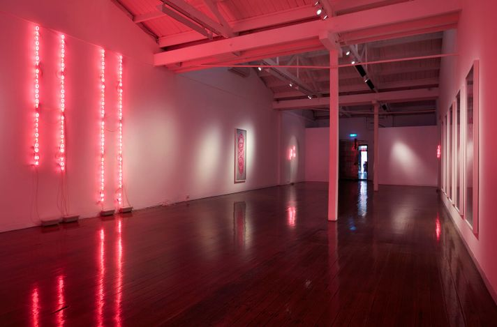 Exhibition view: Eugenia Raskopoulos, the shadow of language, Arc One Gallery, Melbourne (10 March–17 April 2021). Courtesy Arc One Gallery.