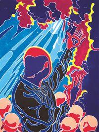 2016 by Fang Lijun contemporary artwork mixed media